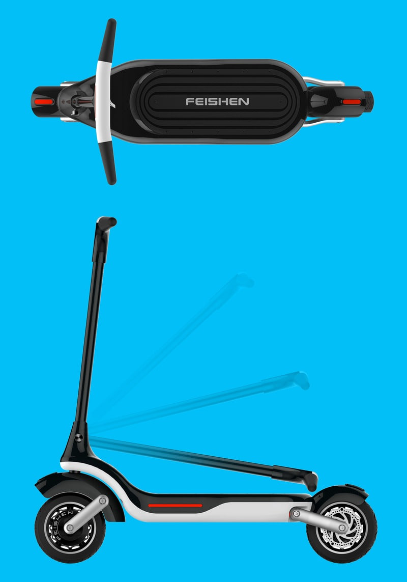 2016 ELECTRIC SCOOTER DESIGN