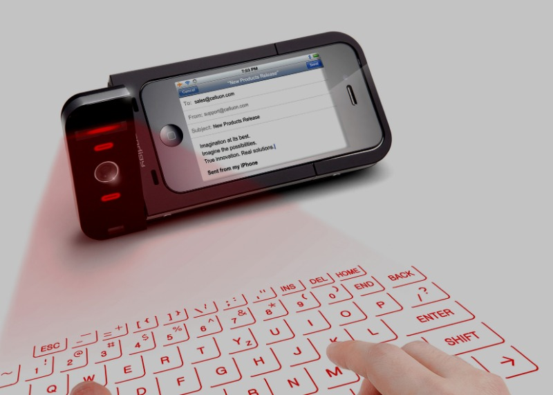 2012 LASER KEYBOARD DESIGN