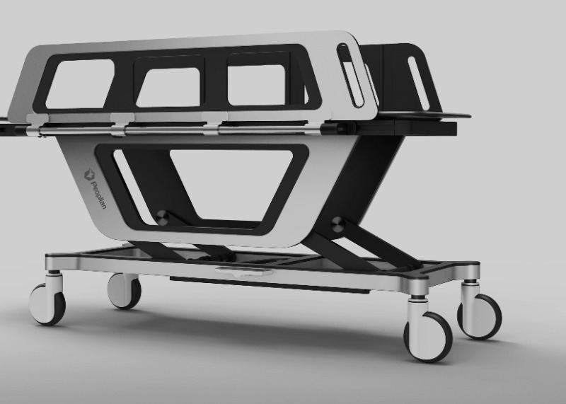 2015 MEDICAL STRETCHERCAR DESIGN